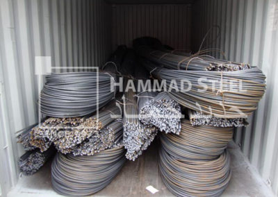 Loaded-Container-with-Deformed-Steel-Bar-Bundles