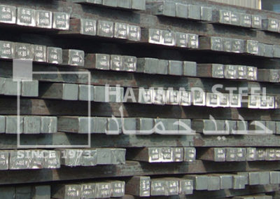 Steel Billets Stock In Warehouse