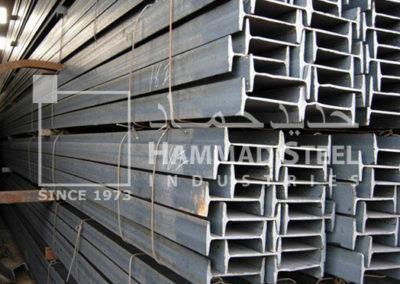 Steel Beam IPE Stock In Warehouse