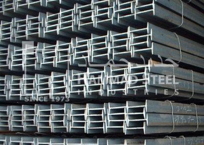 Steel Beam Stocks In Warehouse