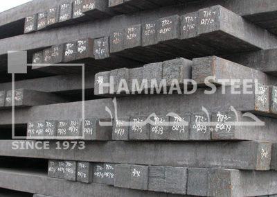 Steel Billet Stocks In Warehouse